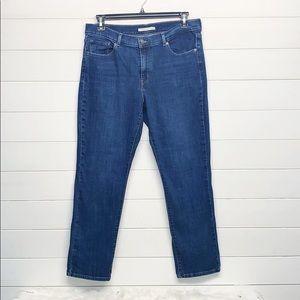Levi Classic Straight Denim Jeans